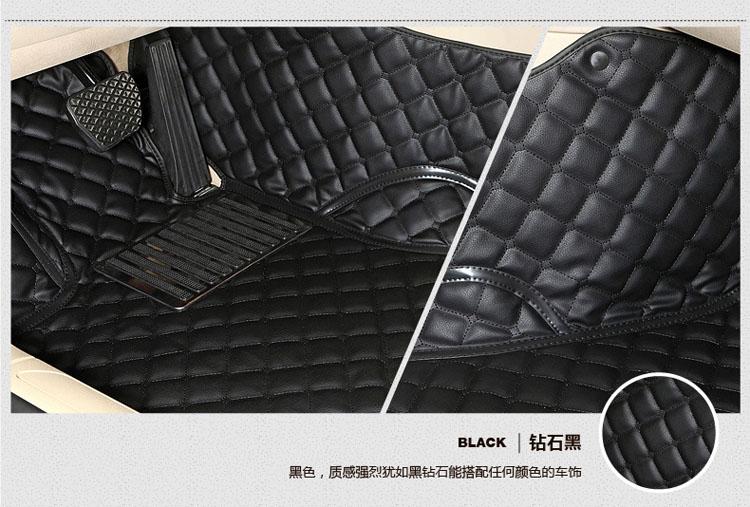 丰田霸道3400普拉多2700专用全包围脚垫 4000汽车地毯