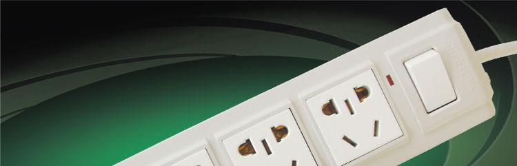8四位排插(1.8米) 接线板