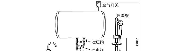 美的f60一15a2电热水器接线图