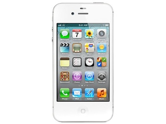 苹果(APPLE)iPhone4S 3G手机(白色)(16G)WCDMA/GSM